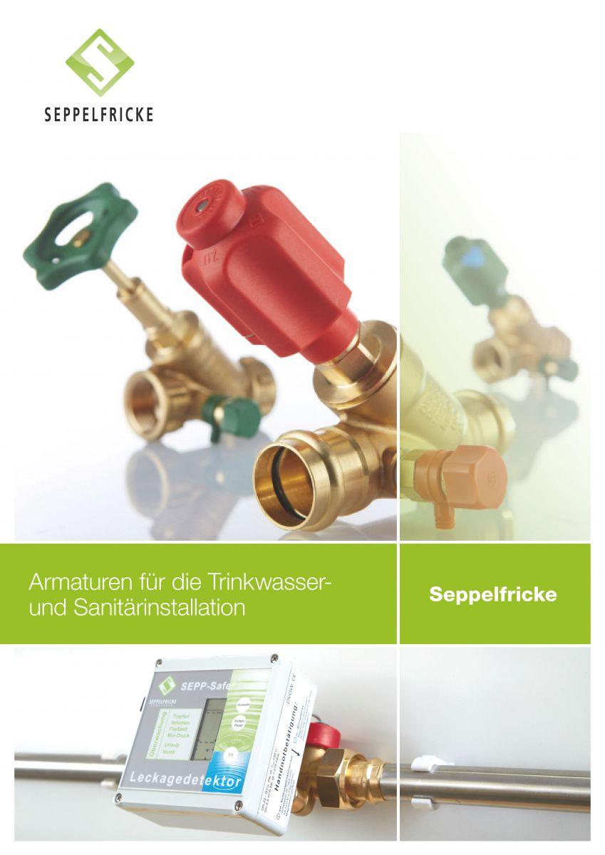 Armaturen für die Trinkwasser und Gasinstallation